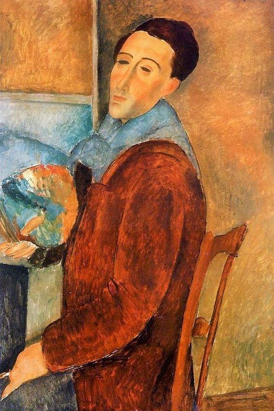 Modigliani. Autoportret